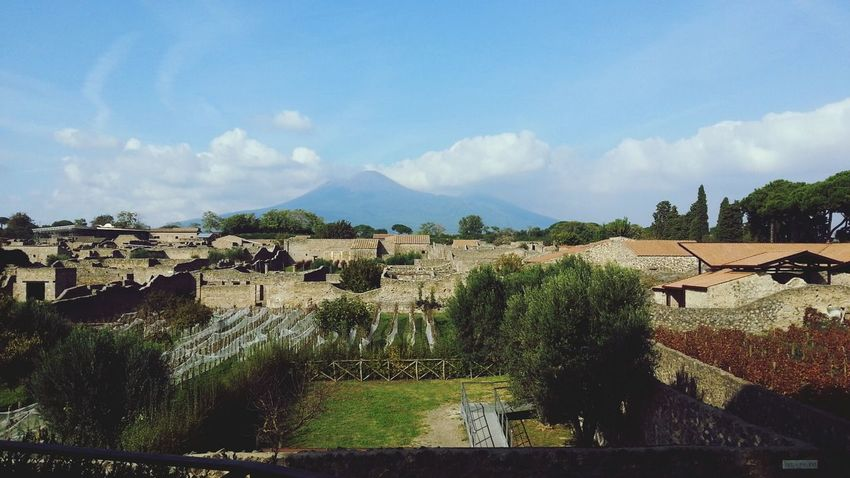 Napoli Pompeii  Vesuvio