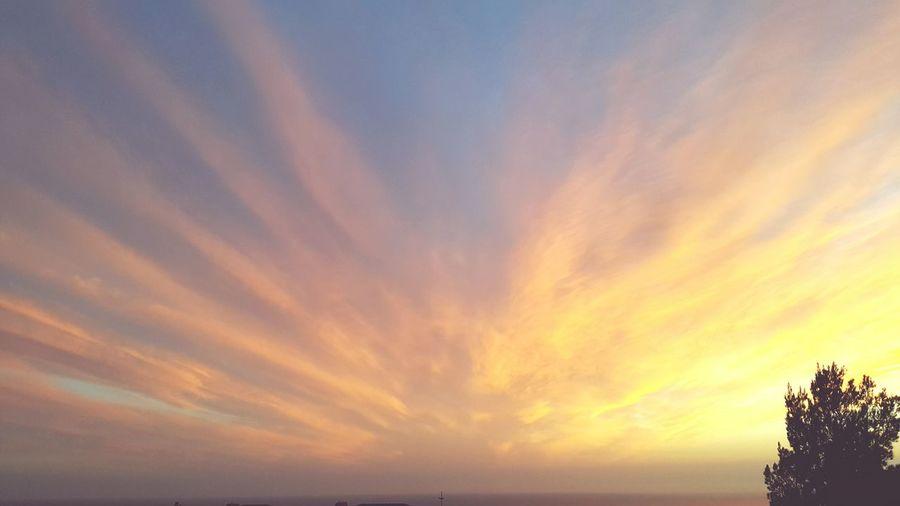 Paphos Balcony Sunset Sky Sunset Clouds Skyporn Colours