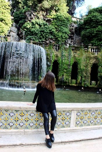 Nature Beauty In Nature Travel Destinations View Waterfall Outdoors One Woman Only Day