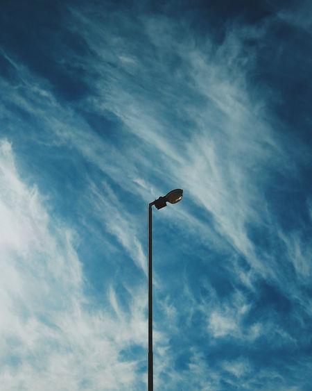 Cloud - Sky Day Lighting Equipment Low Angle View No People Outdoors Sky Street Light