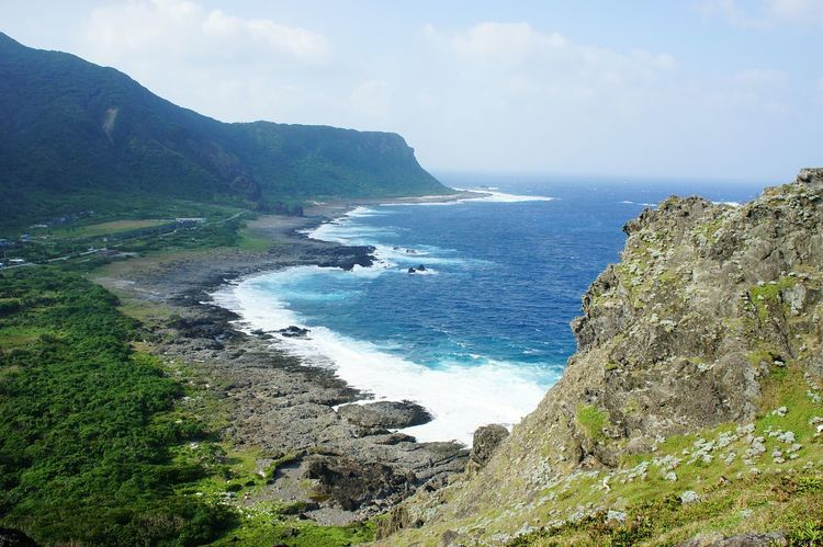 View of the rocky coastline of Lanyu, the Orchid Island, Taiwan Lanyu Taiwan Orchid Orchid Island Rocky Beach Rocky Waves Kiomi Collection Nature Nature Photography Newstrekker Gettylicious EyeEm Taiwan Storm Travel Travel Destinations Mountains The KIOMI Collection