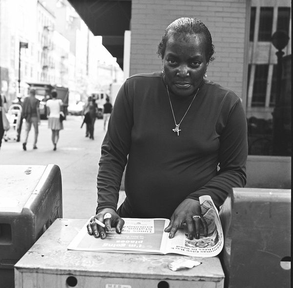 The Portraitist - 2015 EyeEm Awards Hasselblad 500C/M Fine Art Photography Film Hasselblad Blackandwhite Streetphotography New York The Street Photographer - 2015 EyeEm Awards Photojournalism