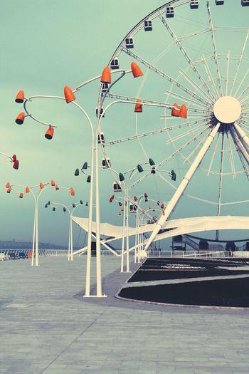 Karusel Art Sea Caspian Sea