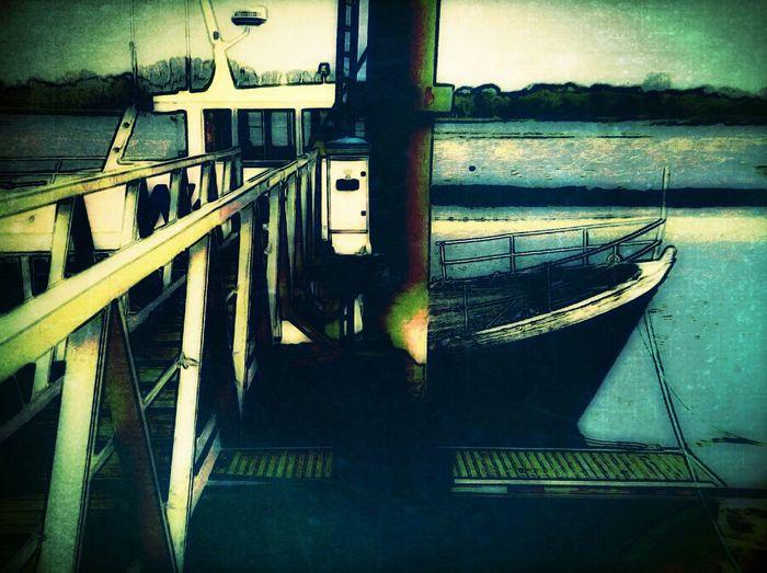 boat at morbihan gulfe Boat