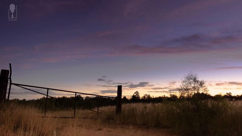 Emerald, Qld Australia Country Life Outback Sunset Great Southern Land Emerald Fencepost For Sale