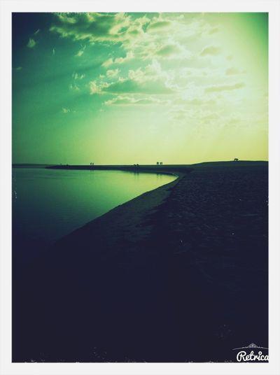 Sunset Sea And Sky