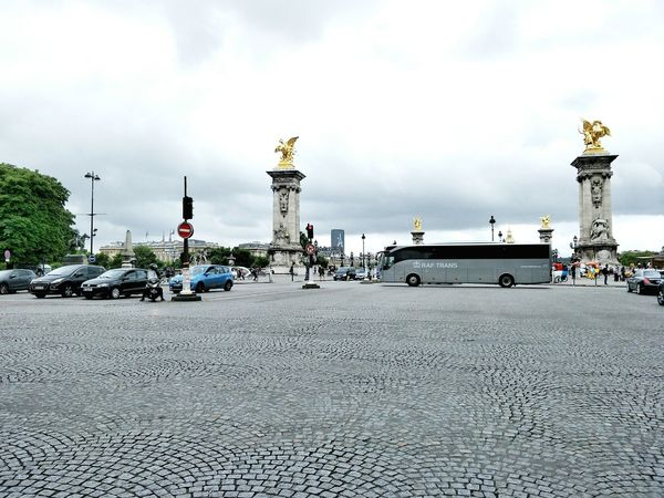 Streetphotography Vacations City Street Eyeemphotography Travel Destinations Car Transportation Land Vehicle Cloud - Sky Sky Outdoors Day No People City Paris ❤ Monument Travel Architecture Built Structure