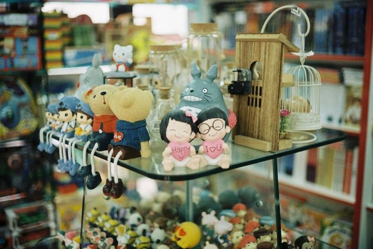KodarkColorplus200 35mm Film Olympus 35 SP Camerafilm No People Store Retail  For Sale Indoors  Variation Close-up
