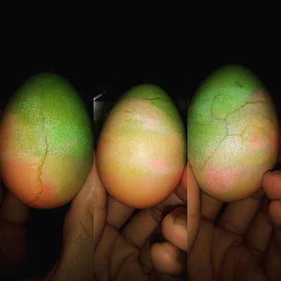 I actually colored some eggs last night Easter Happyeaster HappyEasterEveryone Eggcoloring