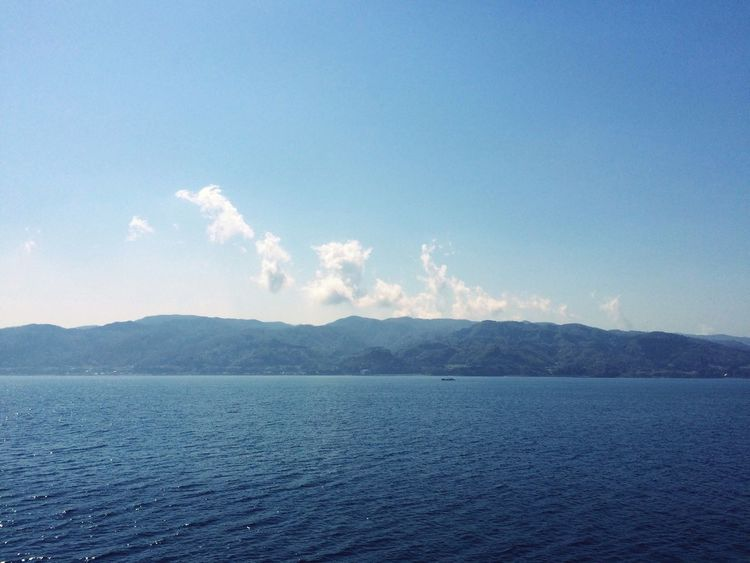 Starting A Trip Clouds And Sky Sky And Sea View From Ship