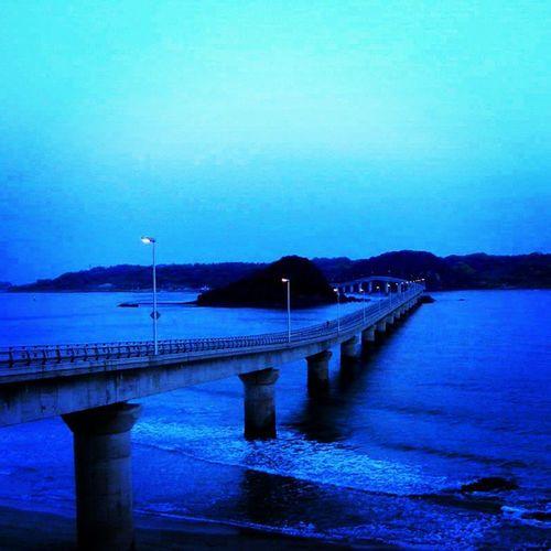 Tsunoshima, Yamaguchi in the Early Morning. Japan Yamaguchi Tsunoshima