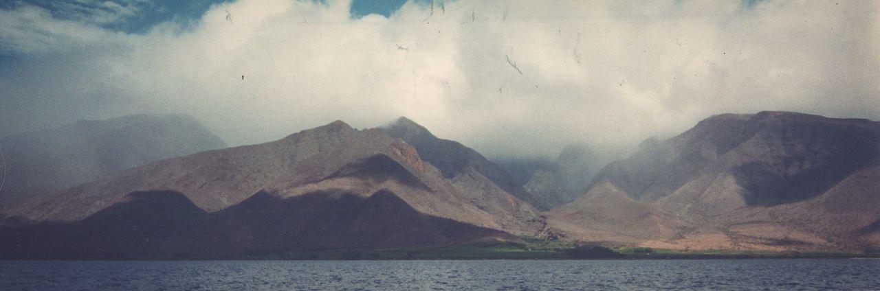 ... memories of Maui ... 1998 Mountain Volcano Scenics Landscape Water Pacific Ocean Island Hawaii Film Analog Clouds Volcanic  Panoramic Spectacular остров вулкан облака океан Montagnes Montanha