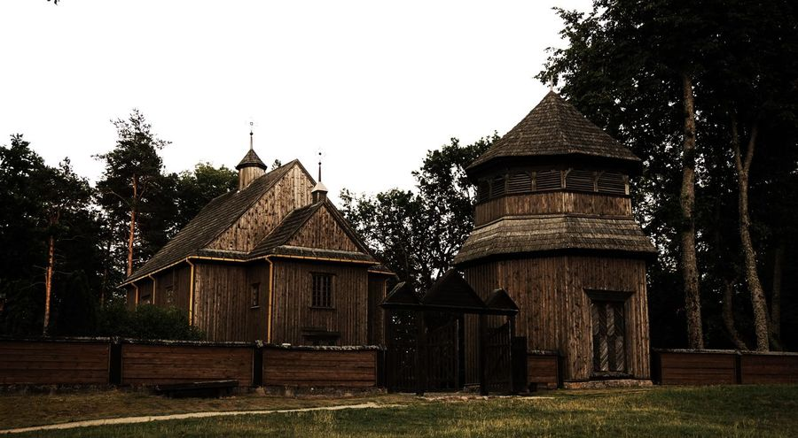 Architecture Built Structure Church Fance Oldchurch Outdoors Tree Woodenchurch