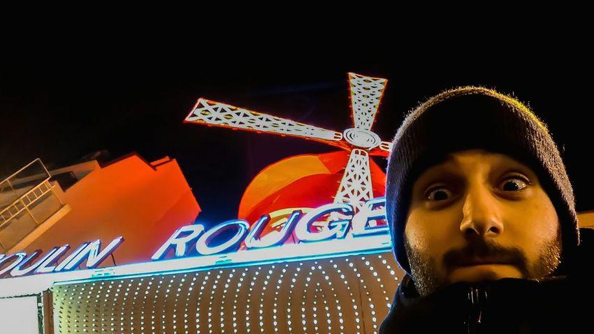 Moulin Rouge Moulin Moulinrouge Moulin Rouge Paris Paris Paris, France  ParisByNight Parisian Cliché Night Me Selfie ✌ Selfies Selfie✌ Traveling Travelling France Stupid Face