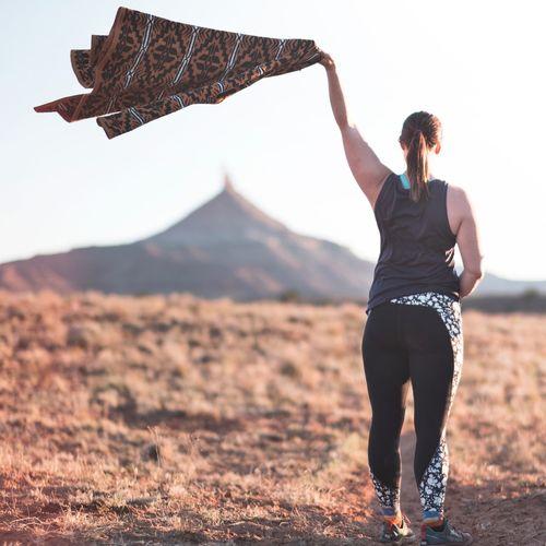 Desert Utah Girl Woman Adult Outdoors Casual Clothing Environment Lifestyles Standing Full Length