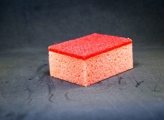 Close-Up Of Sponge On Table