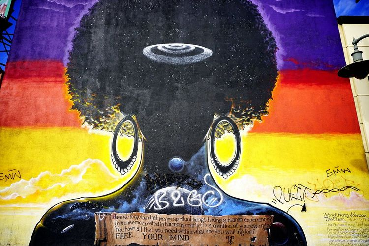 Crenshaw Blvd Los Angeles, California Street Art/Graffiti Murals Street Photography