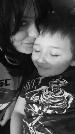 These moments in life are precious!💋💖 Selfie Taking Photos Self Portrait EyeEm Best Shots Picoftheday Black & White Mother&son Family❤ The Human Condition