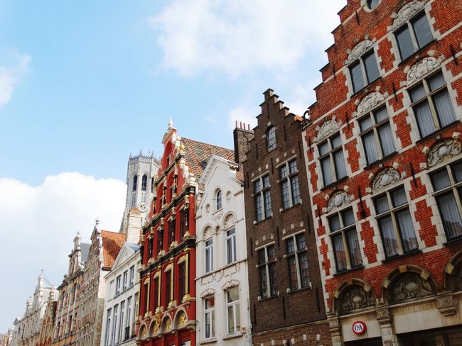 History Architecture Low Angle View City No People Day Sky Outdoors Brugge Vacations Downtown District Cityscape Travel Building Exterior Built Structure Architecture Tourism Travel Destinations Flamand Architecture Flamand Belgium Brugges