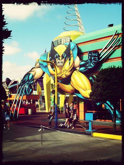 Universal Studios Orlando Island Of Adventure Marvel Wolverine