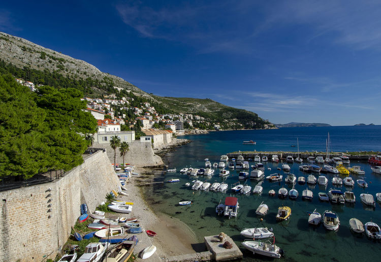 Magnificent Dubrovnik Croatia Dubrovnik Old Town Game Of Thrones King's Landing Turquoise Colored Adriatic Sea Architecture Built Structure Day Dubrovnik Dubrovnik City Walls Fortress By The Sea Game Of Thrones Location Historical Fortress History Kingslanding No People Sea Fortress
