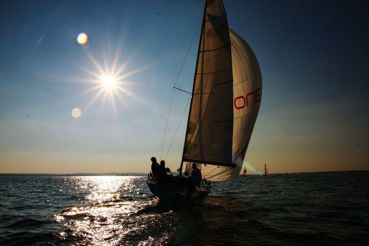 Beautiful Day Enjoying The Sun Germany Segeln Steinhude-am-meer.de - Dein Meer-Foto Going Sailing