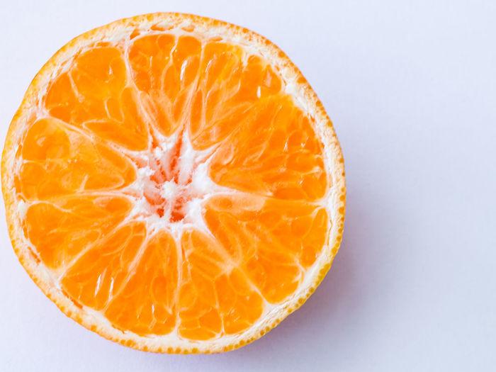 Blood Orange Citrus Fruit Close-up Cross Section Food Fresh Produce Freshness Fruit Half Healthy Eating Indoors  Juicy Juicy Fruit No People Orange - Fruit Orange Color Orange Fruits Peel SLICE Studio Shot White Background