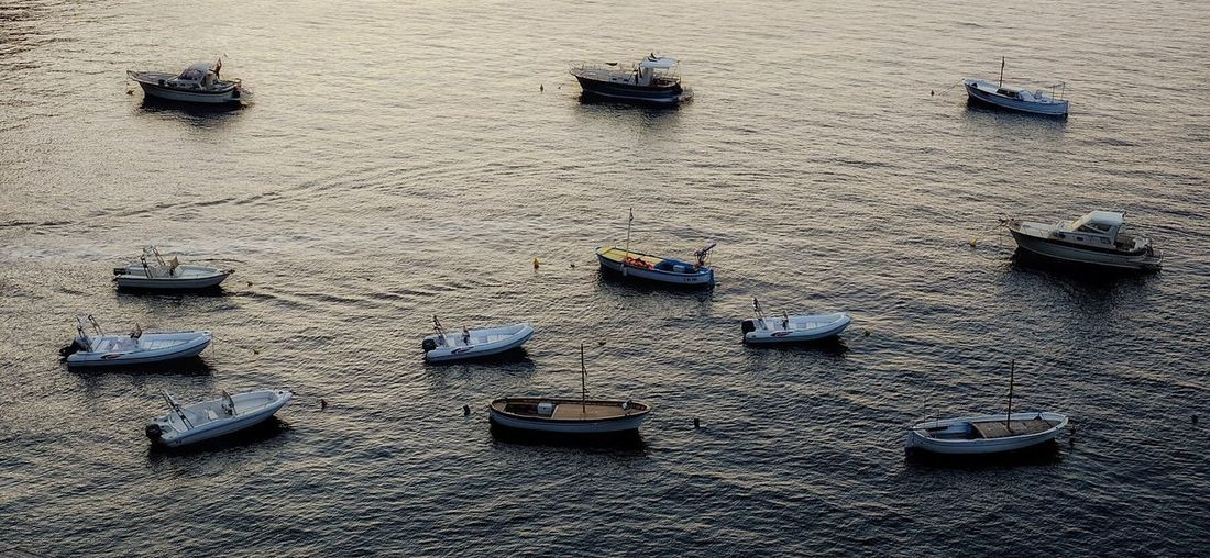 Italian boats Nautical Vessel High Angle View Water boats Power In Nature