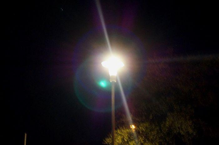 Night No People Outdoors Light Beam Street Light Lights Dark