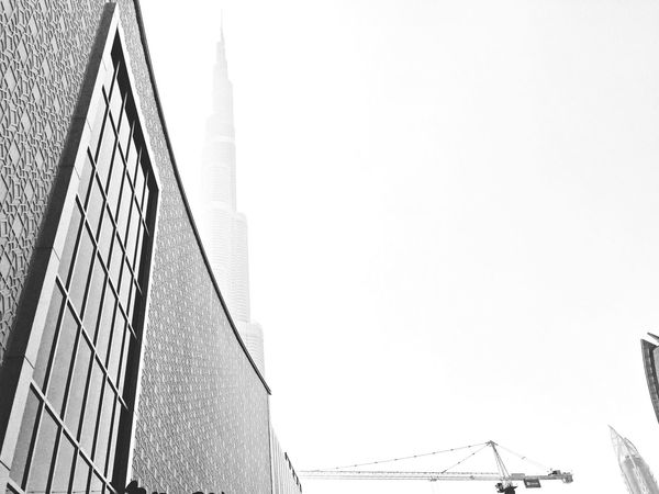 Architecture_bw Architecture Blackandwhite Burj Khalifa DubaiMall