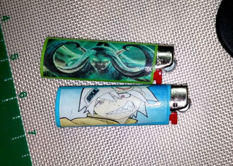 Very easy way not to lose your Lighters..... Modpodge WOW Anime Souleater Soul Lighterthief Hobbies Homemade