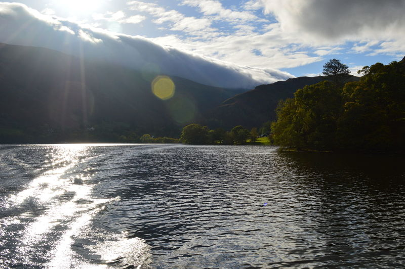 Beauty In Nature Cumbria Day English Countryside Idyllic Lake Side Landscape Mountain Mountains And Sky Nature Non-urban Scene Outdoors Remote Scenics Sky Tranquil Scene Tranquility Ullswater Water
