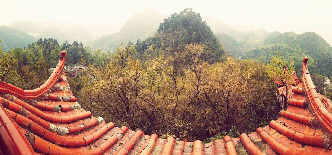 China Beauty Guiyang Guizhou,china Architecture Pattern, Texture, Shape And Form Built Structure Nature