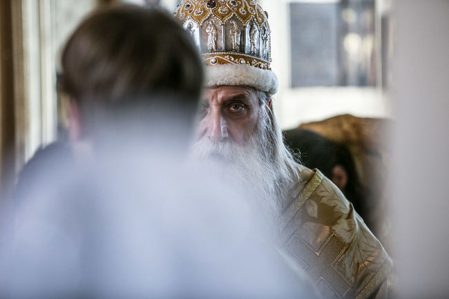 Bishop of the Russian Orthodox Old Believer Church Bishop Auckland Day Indoors  Men Real People Rear View Religion Russia The Portraitist - 2017 EyeEm Awards
