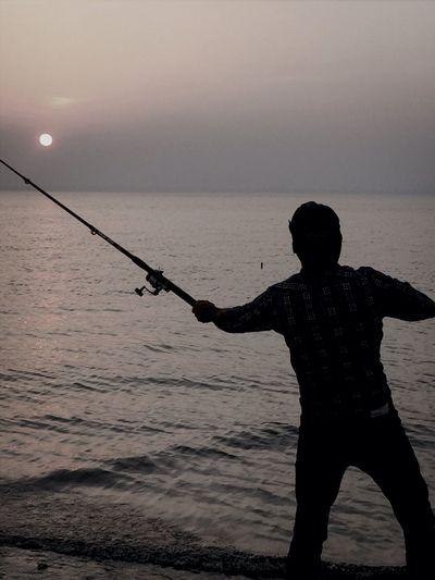 التقاطة في البحر