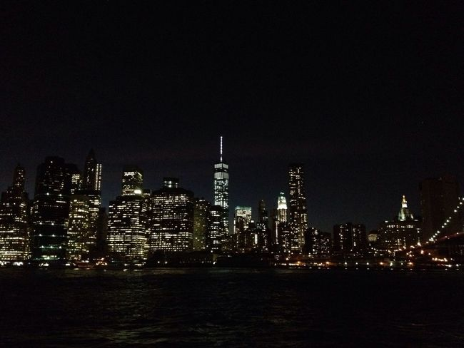 I Love New York Skyline In Brooklyn World Trade Center