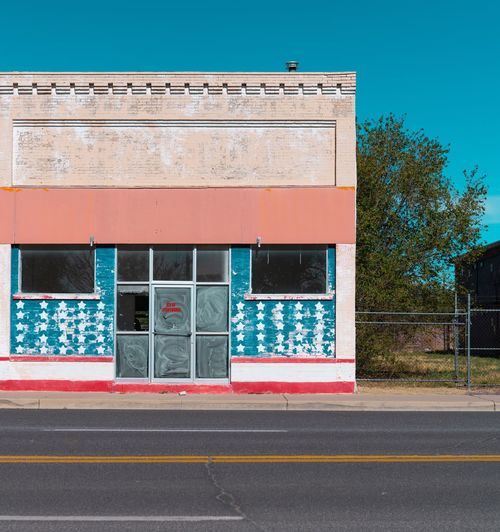Proud USA Arizona Route 66 EyeEm Selects Architecture Built Structure Building Exterior Day No People Window Street Door