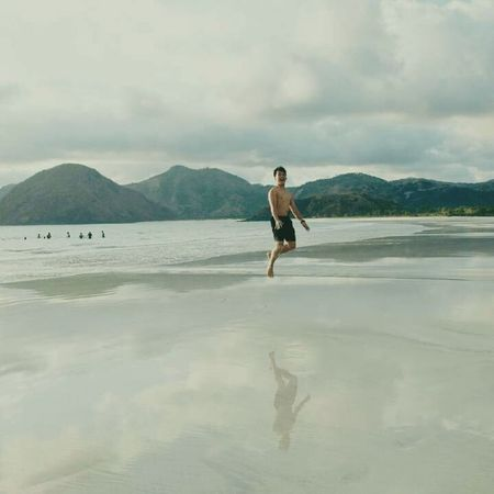 I try to jump higher but i'm still can't fly Selong Belanak, Lombok