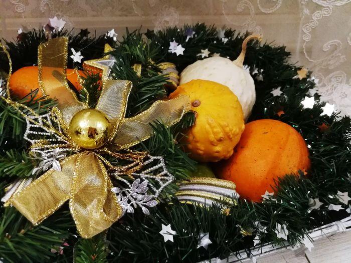 Christmas Ornament Christmas Decor Christmas Background Pumpkins Celebration Christmas Close-up Christmas Decoration Tradition No People