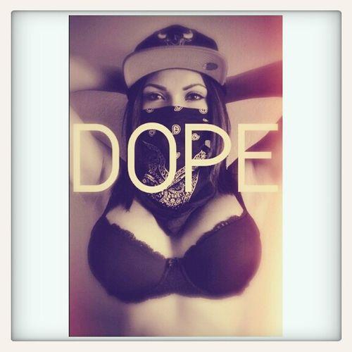 Dope in beauty Boobs . ♥  Bra SNAPBACK♡ Bandanna