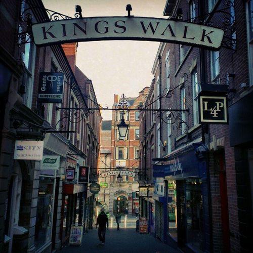Kings Walk. Nottingham
