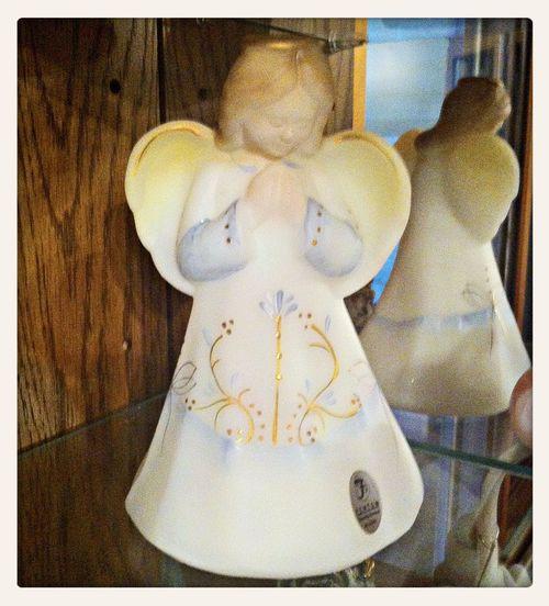 Fenton Glass Collection Knick Knacks Angel Decor
