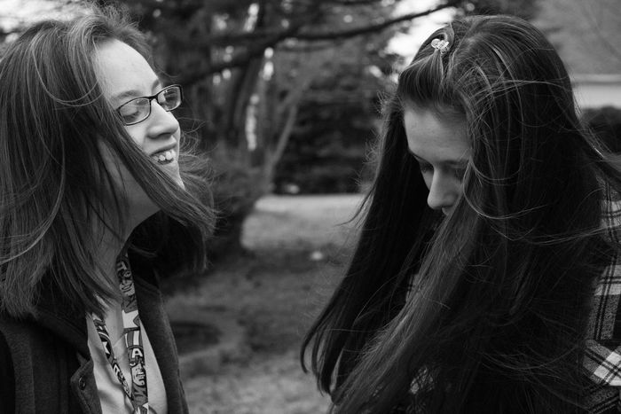 Women Who Inspire You    My little sisters inspire me to be better, to be their role model but to live life to the fullest without a care in the world, and to never forget to have a good laugh    Photography Photosession School Nikon Nikond3300 Outdoor Photography Little Sisters Black And White Homework College Project Inspiration Family Love Candid Twins Twin Sisters Teens Teenagers  Freshman