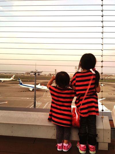 Tears Good Bye See Off Airplane Airport
