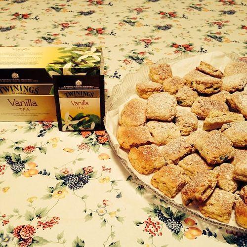 Teatime Merenda  Tozzetti Cantucci tè vaniglia ☕️🍪😍