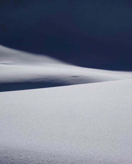 Soft snow Cold Temperature Light And Shadow Minimalism Glacier Glaciers Nature Tranquility Scenics Beauty In Nature Cold Temperature Outdoors Tranquil Scene Day Winter Sky Snow Go Higher