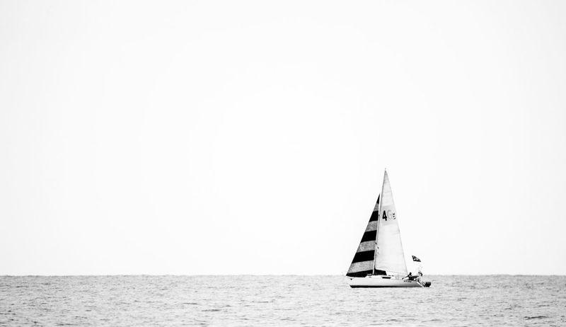 Taking Photos Black And White Summer Blackandwhite Photography Blackandwhite Minimal Minimalism Minimalobsession Yacht Sea