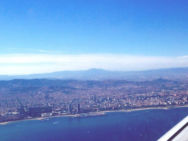 View From Above View From A Plane España Travel Destinations Barcelona