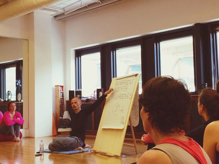 Saturday morning/Yoga workshop