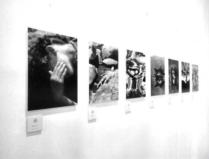 Pictures at an exhibition. Mirror Reflection Photograph No People Arts Culture And Entertainment Photography Themes Indoors  Close-up Day Film Industry Robin Fifield - Photos Awehaven Creative see Light, A Love Affair at Gallery Artsenal, Muelle Uno in the beautiful port of Malaga, Spain until January 19th 2018.